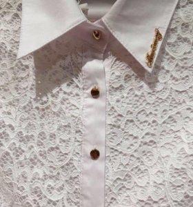 Кружевная блузка (новая)🌷
