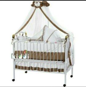 Детская кроватка (торг)