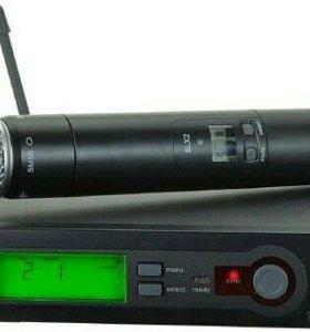 Беспроводной микрофон с системой