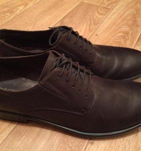 Продам мужские ботинки tj collection бу 45 размер