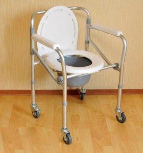 Кресло коляска для инвалидов с санитарным оснащени