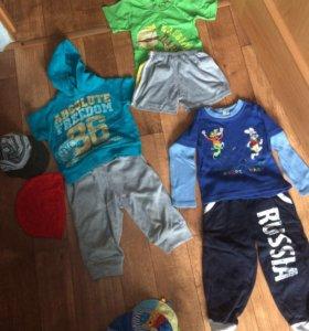 Вещи на мальчика двух лет пакетом