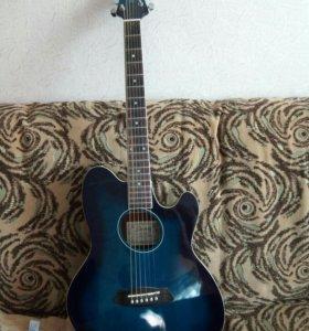 Полу- акустическая гитара ibanez tcy10e tbs