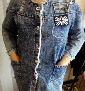 Платье,джинсовка