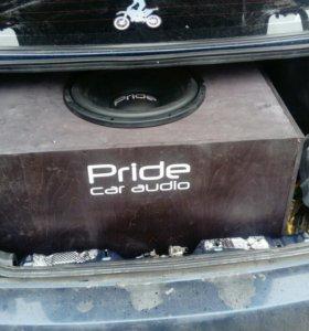 Сабвуфер Pride Junior 15 (номинал 650W) в коробе
