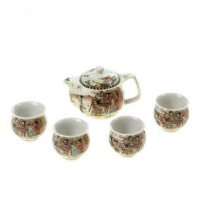 Китайский чайный сервиз+чай