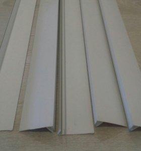 Профиль F белый 3м- 5 шт