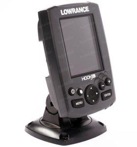 Новый Эхолот Lowrance Hook-3x