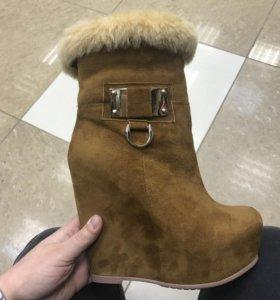 Ботинки Glossi зима, 36, новые