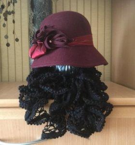 Шляпа+шарф