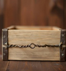Ящик ретро для фотосессии
