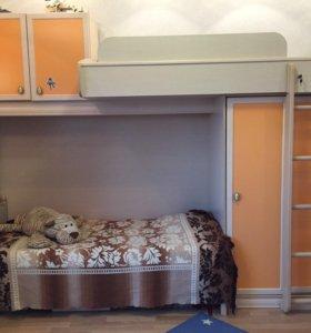 Детская двухэтажная кровать. 2