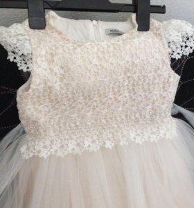 Вечернее выпускное платье для девочки