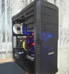 Игровой компьютер: Ryzen 5 1600, 16Gb, 1Tb