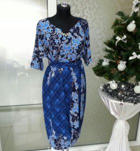 Платье Дама XXL
