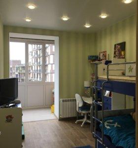 Квартира, 1 комната, 46.1 м²