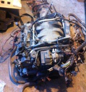 Двигатель 3,2 218л,с и коробка авт 5ст (мерседес)