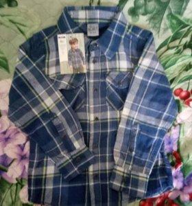 Рубашка для мальчика размер 98/104