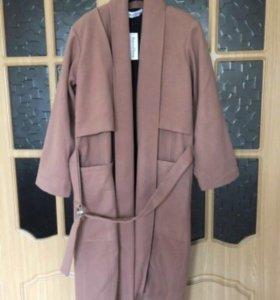 Пальто (новое!) 40% вискоза