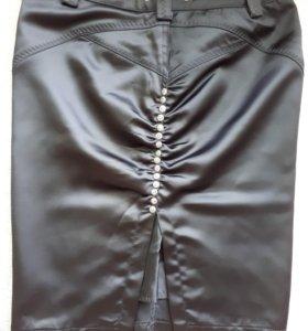 Эксклюзивная атласная юбка турецкого качества.