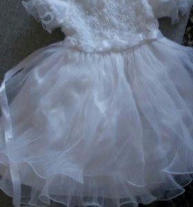 Платье на девочку 4 г