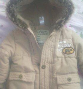 Куртка новая зимняя теплая