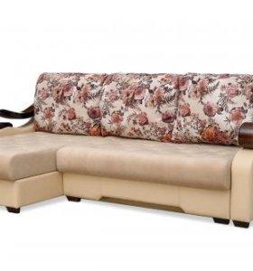 Коралл 13 диван угловой(2300*1490*880)