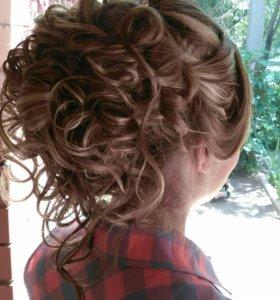 Локоны и причёски