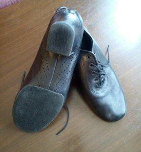 Туфли танцевальные,латино-кожа