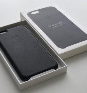 Оригинальный, кожанный чехол для iPhone 6/6S