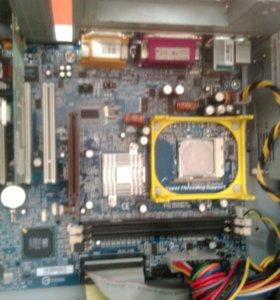 Материнка(478 сокет) + Pentium D 2.8 ггц + операти