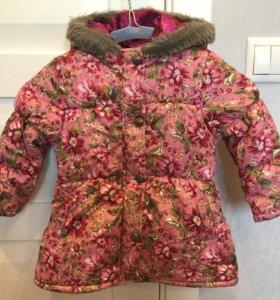 Куртка Kenzo Kids для девочки 2 лет