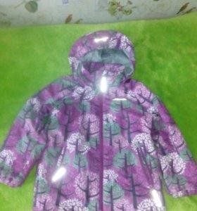 Куртка Icepeak на девочку 5-6 лет б/у