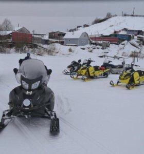 Снегоход Lynx Adventure 600 e-tec