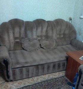 Диван и кресло кровать .