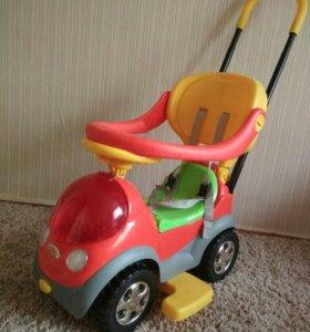 Детская Машинка-каталка Бони 7611