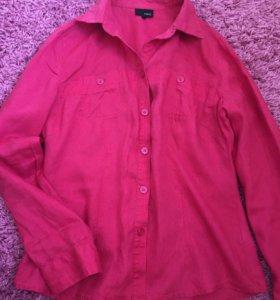 Блузка Рубашка NEXT розовая