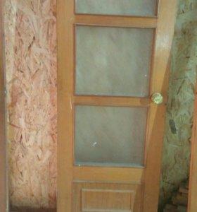 Двери шпон дуба