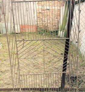 Калитка (дверь железная,садовая)