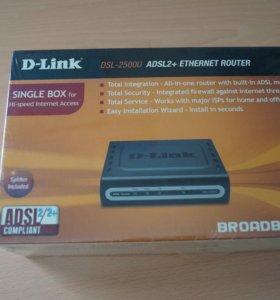 Модем D-link DSL-2500U (adsl2+)