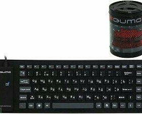 Гибкая резиновая клавиатура