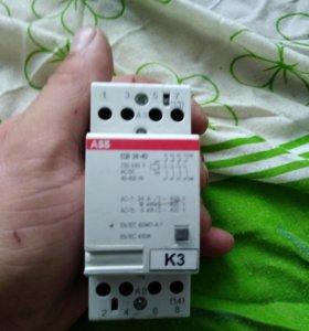 Контактор abb esb 24-40