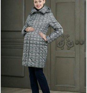 Пальто-пуховик для беременных
