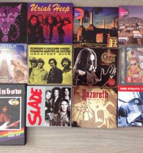 Музыкальные CD диски.