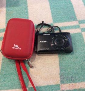 Фотоаппарат Nikon новый в отличном состоянии +чехо