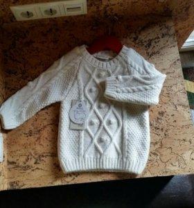 Новый дет.свитер 86-92