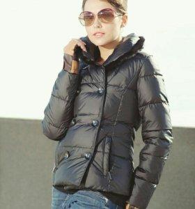 Куртка - пуховик Lawine с мехом норки