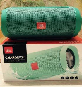 Jbl charge k3+, зеленая