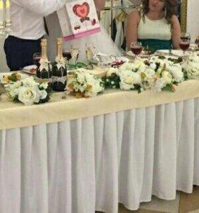 Украшения на свадьбу, цветы