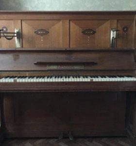 Антикварное немецкое пианино A Grand конца 19в.